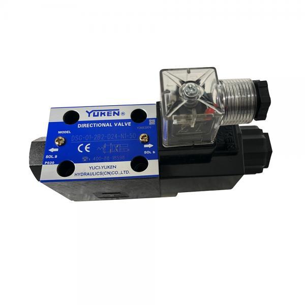 Yuken Oil Research Electro - Hydraulic Reversing Valve Dshg #1 image