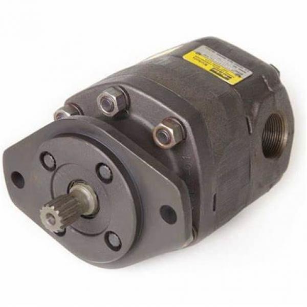 Parker F11 Series Hydraulic Motor F11-019-Sb-Ss-S-000-Mvr-O #1 image